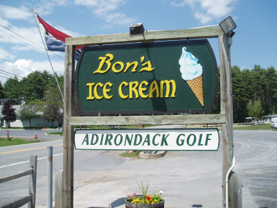 Bon's Ice Cream / Adirondack Mini Golf